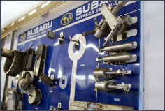 full range of subaru main dealer specialist tools at gilesgate autocare in hexham